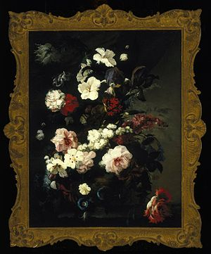 Mary Moser - Image: Brooklyn Museum Flowers Still Life (Jardiniere of Flowers) Mary Moser