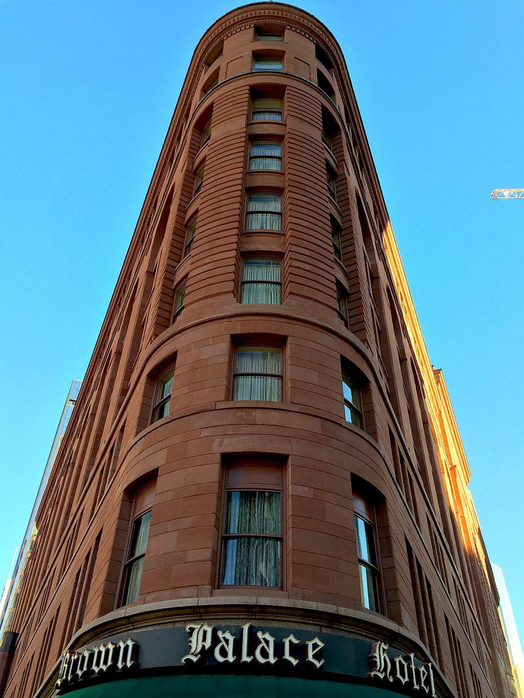Brown Palace Hotel Exterior Flat Iron Corner Facade
