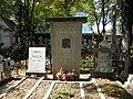 Bucuresti, Romania, Cimitirul Bellu Ortodox (Mormantul lui Ion Luca Caragiale).JPG
