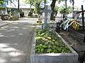 Bucuresti, Romania, Cimitirul Bellu Ortodox - Serban Voda (Mormantul lui Gellu Naum).JPG