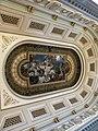 Bucuresti, Romania, Palatul Regal (Muzeul National de Arta al Romaniei - Pavilionul Sala Tronului - interior 19 - plafon ); B-II-m-A-19856.JPG