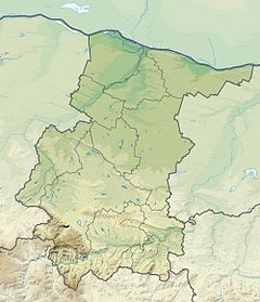 Bulgaria Vratsa Province relief location map.jpg