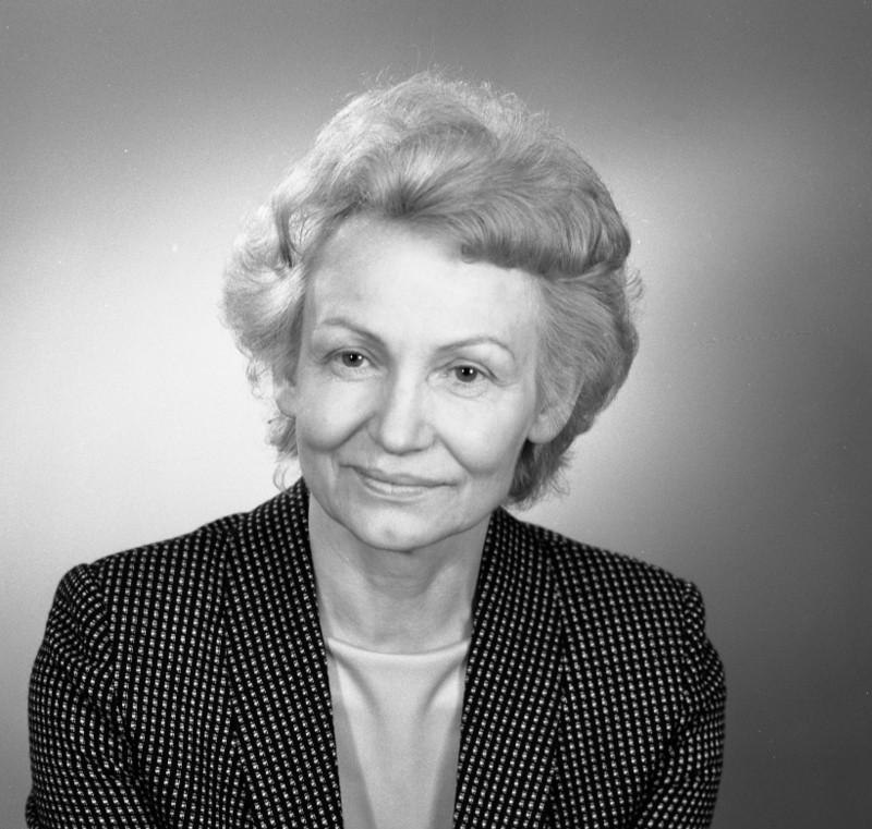 Bundesarchiv Bild 183-1986-0313-300, Margot Honecker, Minister f%C3%BCr Volksbildung