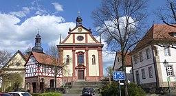 Marktplatz in Burghaun