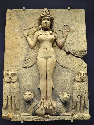 Lilith - Burney Relief, Babylon (1800–1750 BCE). Some scholars (e.g. Emil Kraeling) incorrectly identified the figure in the relief with Lilith, based on a misreading of an outdated translation of the Epic of Gilgamesh. Modern research has identified the figure as one of the main goddesses of the Mesopotamian pantheons, most probably Ishtar or Ereshkigal.