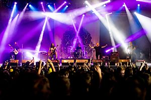 Bury Tomorrow - Bury Tomorrow live at Summer Breeze Open Air in 2016