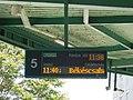 Bus Station, platform 5, information display, 2019 Siófok.jpg