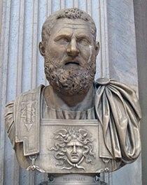 Bust of the consul Gaius Fulvius Plautianus at Museo Pio-Clementino.jpg