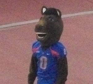 Buster Bronco (Boise State) - Image: Buster Bronco Boise State