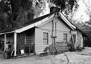 Butterfield Overland Mail in California - Oak Grove Stage Station in the Laguna Mountains, San Diego County, California.