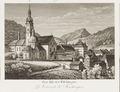 CH-NB - Das Kloster Fischingen = La Couvent de Fischingen -Randvignette oben Mitte rechts- - Collection Gugelmann - GS-GUGE-83-45-5.tif