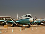 CHINESE AIR FORCE VICKERS VISCOUNT 800 AT THE DATANSHAN CHINESE AVIATION MUSEUM BEIJING CHINA OCT 2012 (8161917876).jpg