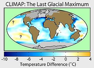 Last Glacial Maximum most recent glacial maximum during the last glacial period