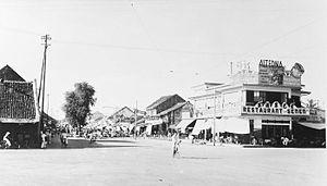 Senen - Early 20th century photo of Pasar Senen