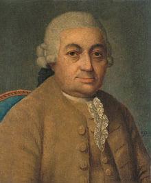 Carl Philipp Emanuel Bach, by Franz Conrad Löhr (after Johann Philipp Bach) (Source: Wikimedia)