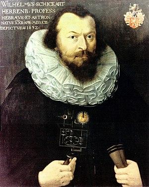 Wilhelm Schickard - Image: C Melperger Wilhelm Schickard 1632