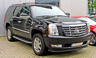 Cadillac Escalade Full-size luxury SUVs made by General Motors