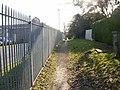 Caerleon campus perimeter path - geograph.org.uk - 1748645.jpg