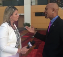 L'actor estatounitense Montel Williams, en una imachen de 2014