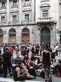 Caixa Catalunya - Correfoc infantil i preparatius del correfoc gran P1160671.JPG