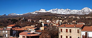 Calacuccia - A panorama of Calacuccia