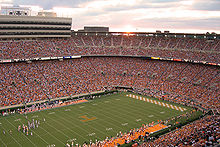 watching the game at neyland stadium essay Free essay: the farther away you go from the stadium, the cheaper the parking places, but when the game ends you can get out of the hilton easier than any.