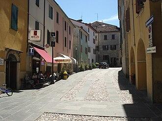 Calestano - Image: Calestano strada storica