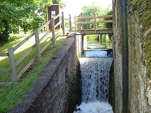 Heacham River -  Caley Mill-the mill-race