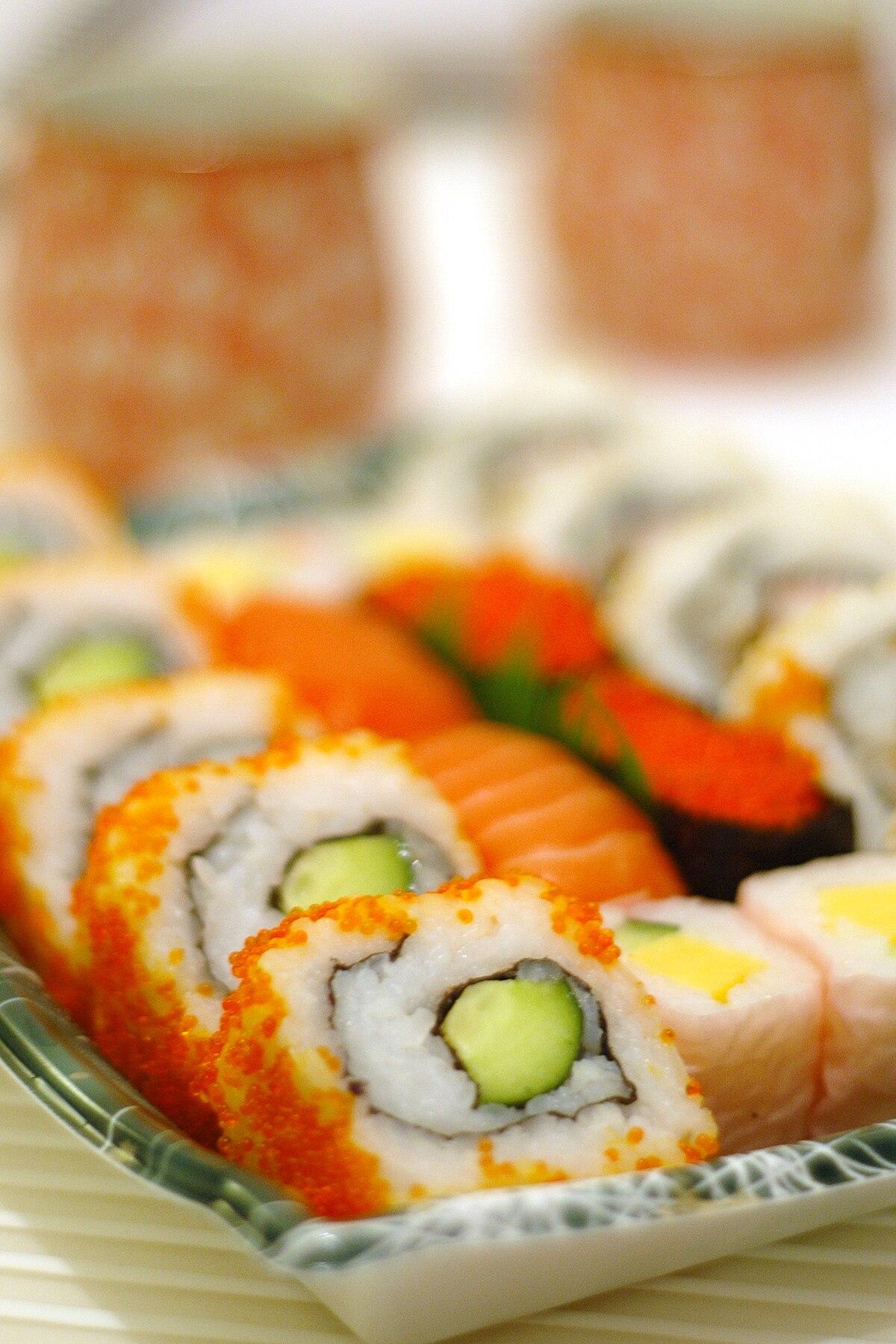 Sushi Wikipedia Den Frie Encyklop 230 Di