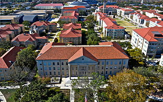 Texas Christian University - Part of TCU's Campus