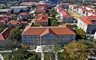 Texas Christian University - Part of TCU's Campus