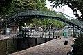 Canal Saint-Martin Passerelle de la Grange-aux-Belles 001.JPG