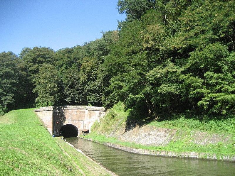 Canal de la Marne au Rhin. Tunnel d'Arzviller