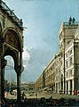Canaletto - Venice Piazza San Marco, Seen from the Campo San Basso, ca. 1760.jpg