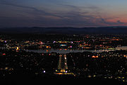 Canberra at twilight from mt ainslie.jpg