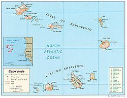 kart kapp verde Barlavento – Wikipedia
