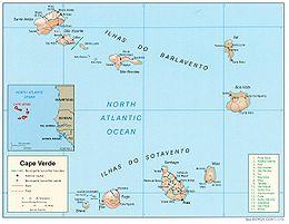 Geografia di Capo Verde - Wikipedia