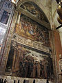 Cappella lavagnoli, affreschi di francesco benaglio o michele da verona 01.JPG