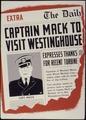 Captain Mack to Visit Westinghouse - NARA - 534331.tif