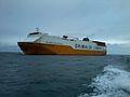 Car carrier REPUBBLICA DEL BRASILE en mer.jpg