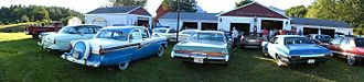 Car club - Car club social in Lunenburg County, Nova Scotia, Canada