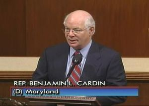 On the floor of the House, Rep. Cardin calls for the withdrawal of all troops from Iraq by 2007, June 12, 2006.