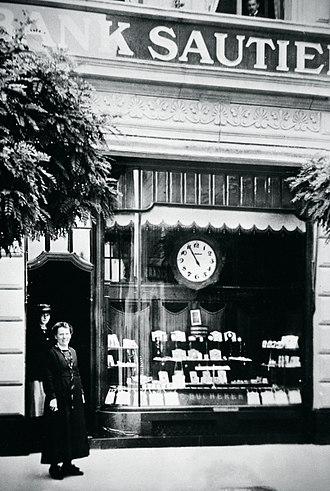 Carl F. Bucherer - Carl Friedrich Bucherer's first boutique in Lucerne, Switzerland.