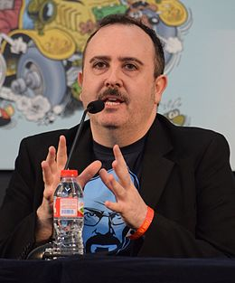 Carlos Areces, Barcelona International Comic Convention 2016 (cropped).jpg