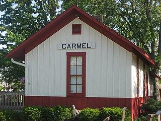 Carmel Monon Depot