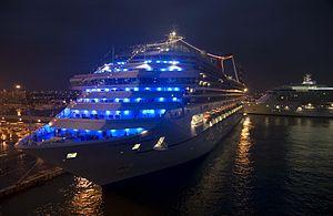 Carnival Liberty - Carnival Liberty docked in Ft. Lauderdale in 2007