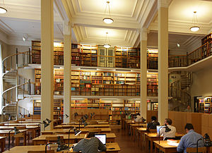 Carolina Rediviva - Image: Carolina Rediviva main reading room