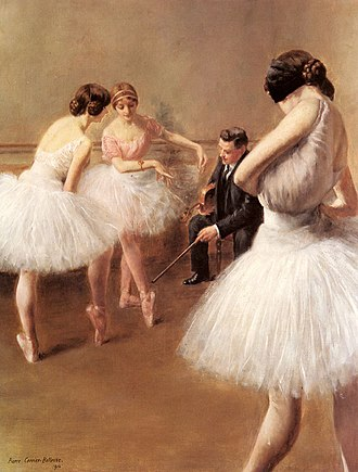 Pierre Carrier-Belleuse - Image: Carrier Belleuse Pierre The Ballet Lesson