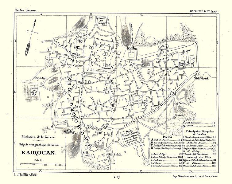 File:Carte Hachette Joanne-1887-Kairouan (Tunisie).jpg