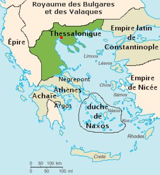 Kingdom of Thessalonica - Kingdom of Thessalonica (1204).